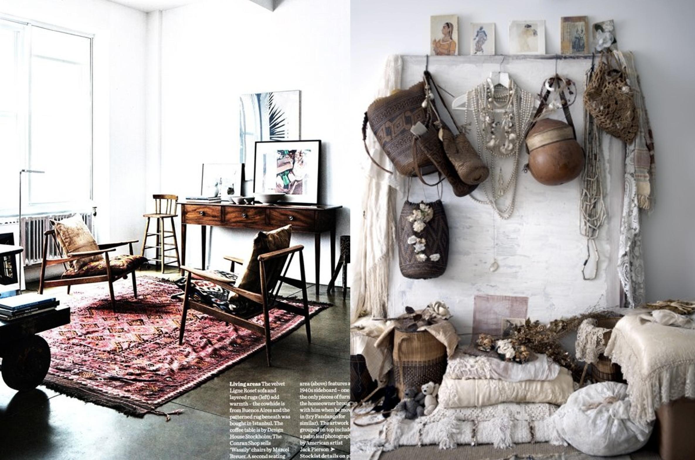 Modern bohemian style marloes wonen - Tijdschrift chic huis ...