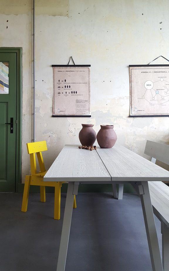 Bijzettafel Piet Hein Eek.Piet Hein Eek Tafel Affordable Amazing Perfect Eettafel Sloophout