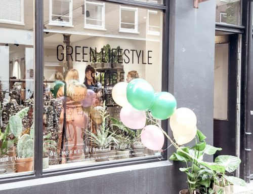 Green Lifestyle pop-up Store